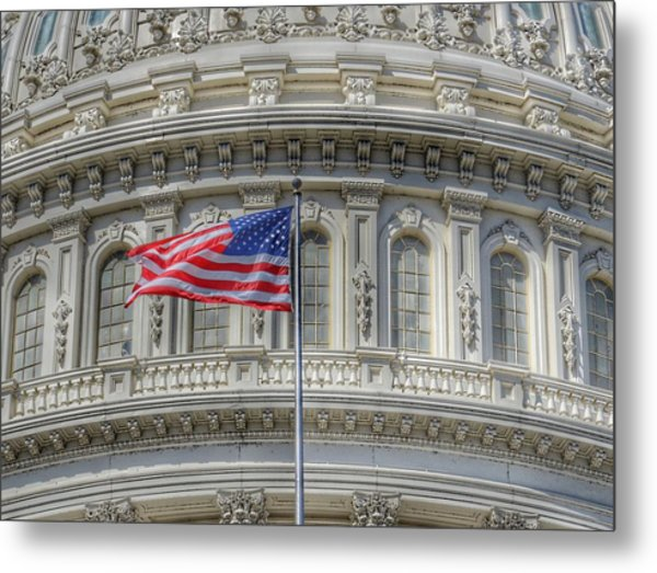 The Us Capitol Building - Washington D.c. Metal Print
