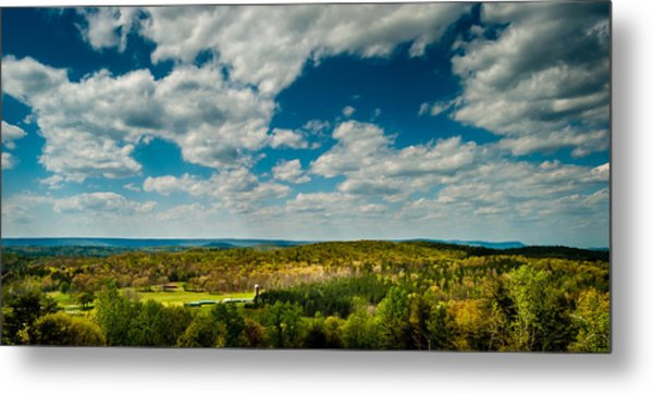 The Valley Metal Print