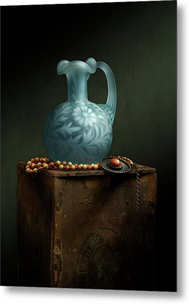 Metal Print featuring the photograph The Vase by Cindy Lark Hartman