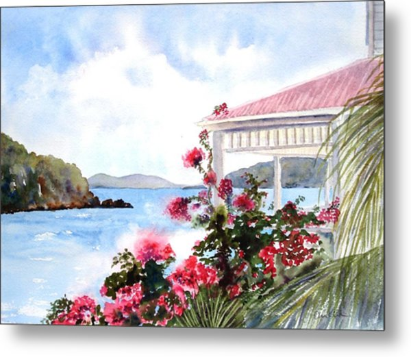 The Veranda Metal Print
