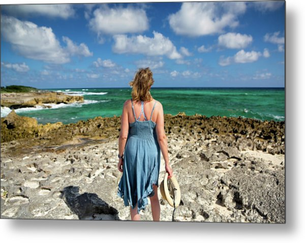 Metal Print featuring the photograph The View by David Buhler