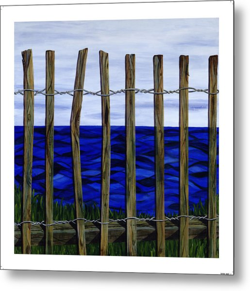 The View From Here Metal Print by Diane Korf