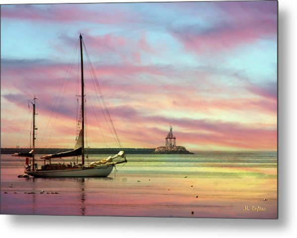 The View From Rocky Neck Metal Print