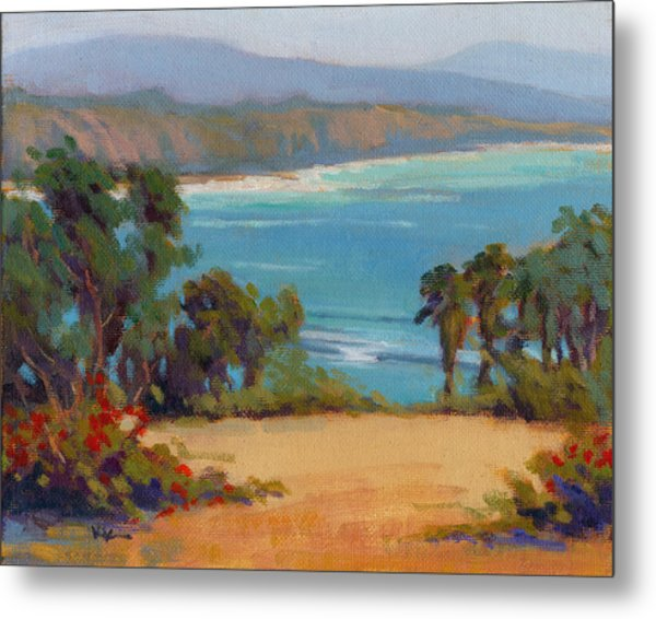 Metal Print featuring the painting The View by Konnie Kim
