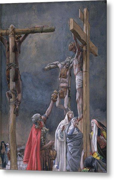 The Vinegar Given To Jesus Metal Print