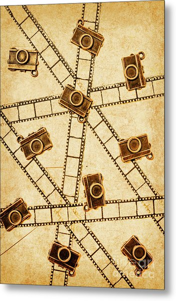 The Vintage Photo Gallery Metal Print