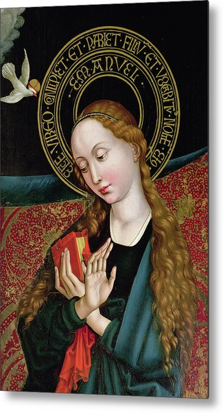 The Virgin From The Annunciation Metal Print