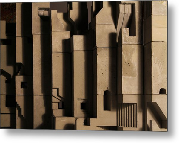 The Wall 3 Metal Print by David Umemoto