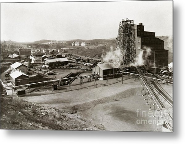 The Wanamie Colliery Lehigh And Wilkes Barre Coal Co Wanamie Pa Early 1900s Metal Print