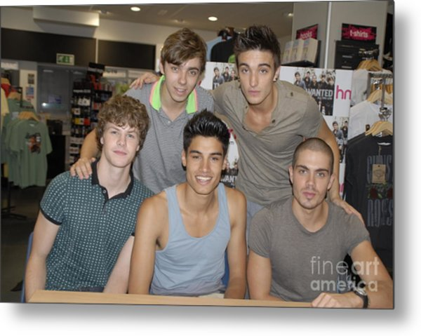 The Wanted Metal Print