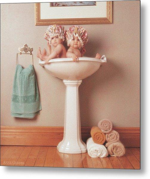 The Washbasin Metal Print