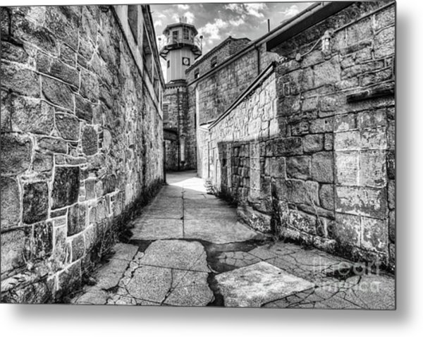 The Watch Tower Eastern State Penitentiary Metal Print