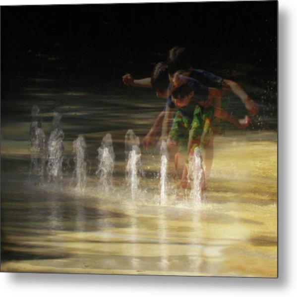 The Water Maestro  Metal Print