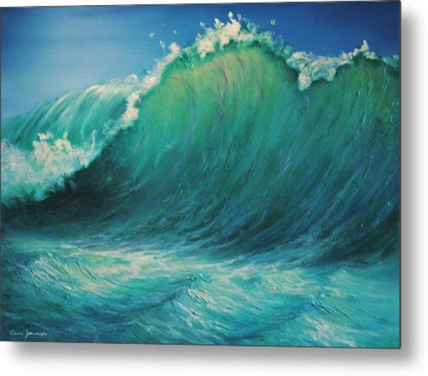 The Wave By Alan Zawacki Metal Print