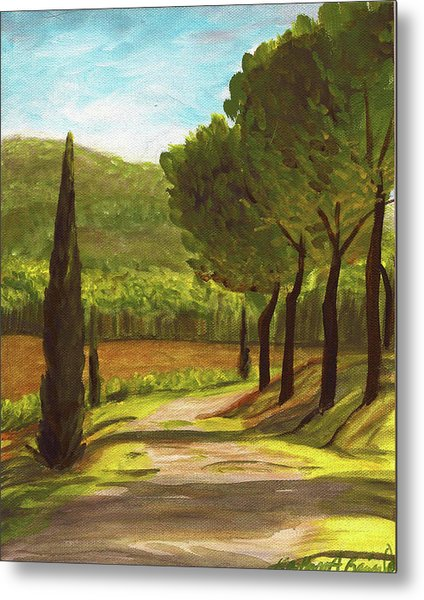 The Way Of The Olive Branch Metal Print