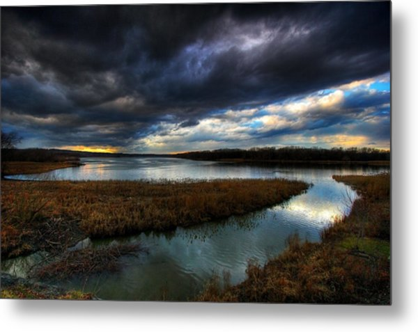 The Way Of The River Metal Print