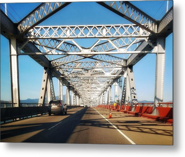The Way To New Orleans Metal Print