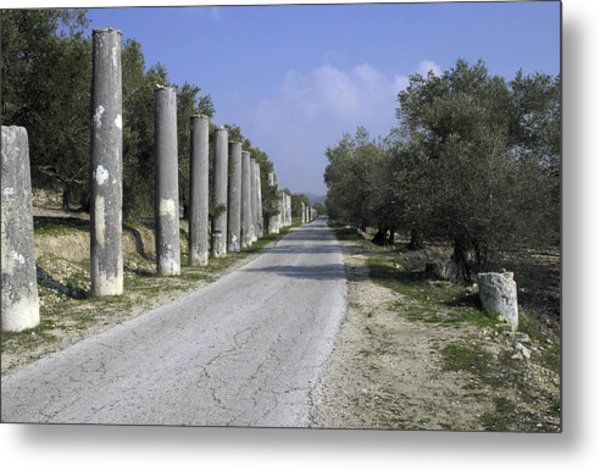 The Way To Sebastia Metal Print