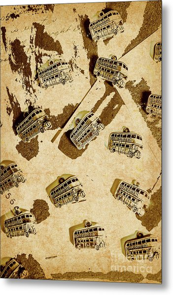 The Weathered Downtown Metal Print