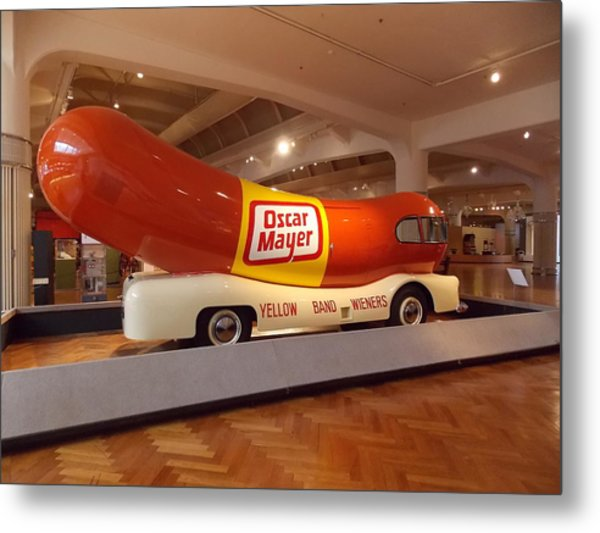 The Weinermobile 1 Metal Print