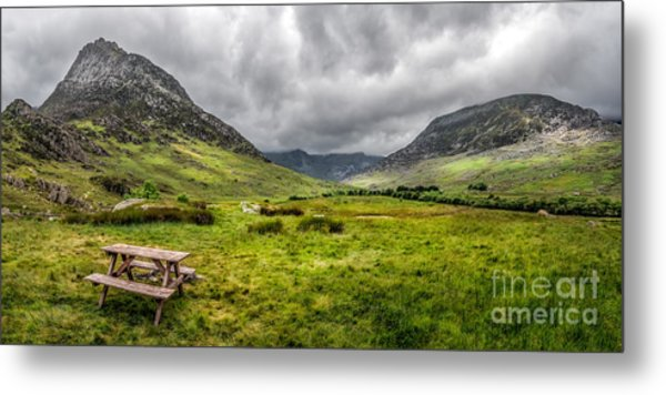 The Welsh Valley Metal Print