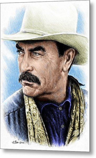 The Western Collection Monty Walsh Metal Print