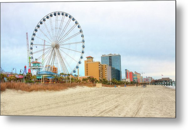 The Wheel Metal Print