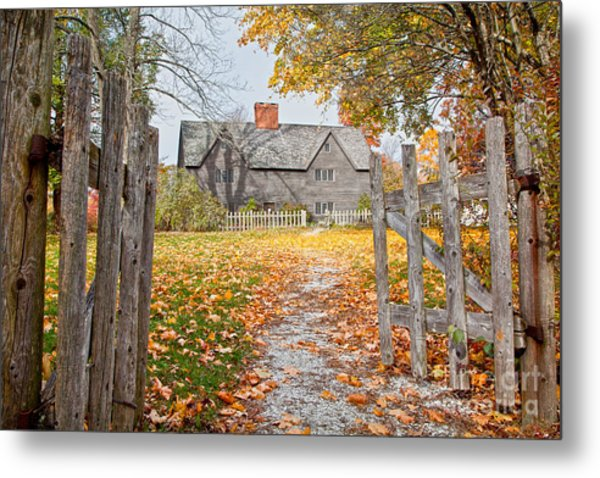 The Whipple House Metal Print