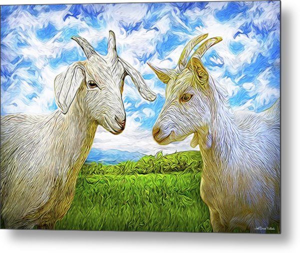 The Whispers Of Goats Metal Print