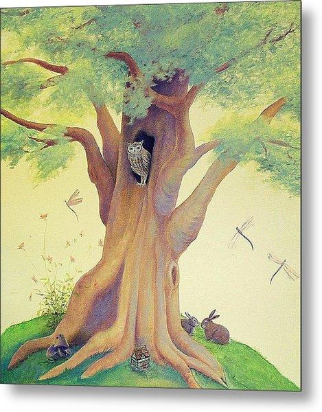 The Whistling Tree Metal Print