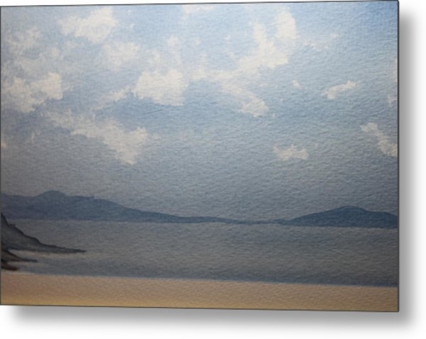 The White Clouds Metal Print