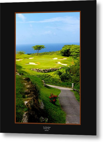 The White Witch Jamaica Metal Print