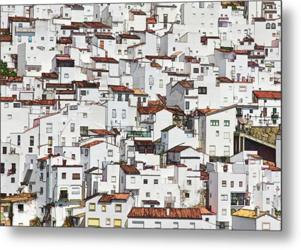 the whiter side of Casares Metal Print