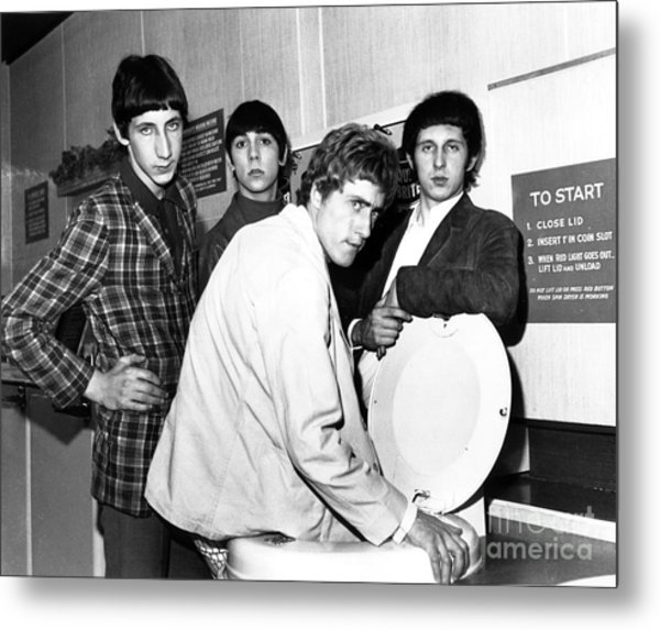 The Who 1966 Metal Print by Chris Walter