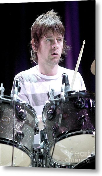 Zak Starkey Metal Print