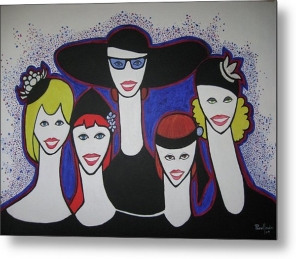 The Widow Ladies Metal Print