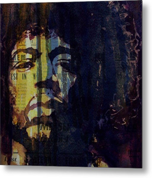 The Wind Cries Mary Reprise  Metal Print