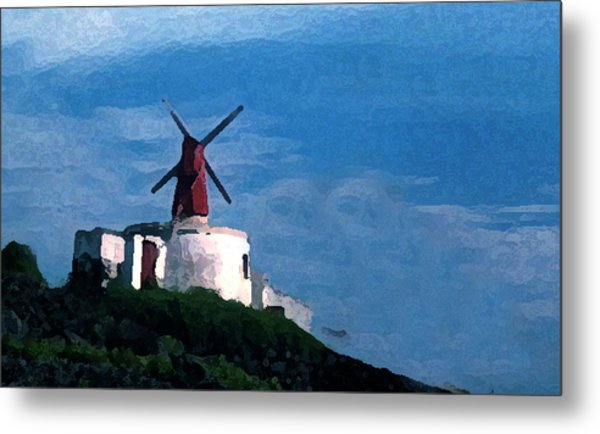 The Windmill Metal Print by Cabral Stock