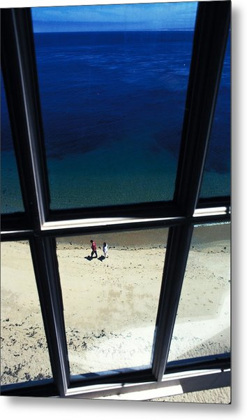 The Window Metal Print by Carl Purcell