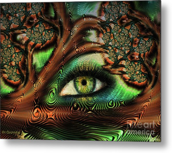 The Window To Your Soul Metal Print