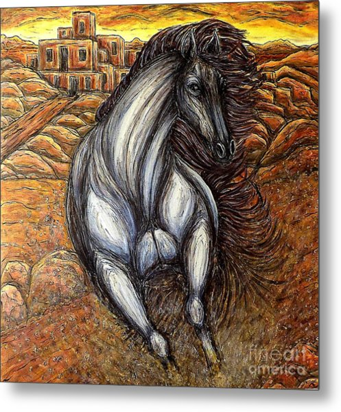 The Winds Have Changed Metal Print