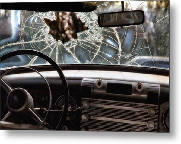 The Windshield  Metal Print