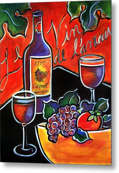 The Wine Of Love Metal Print