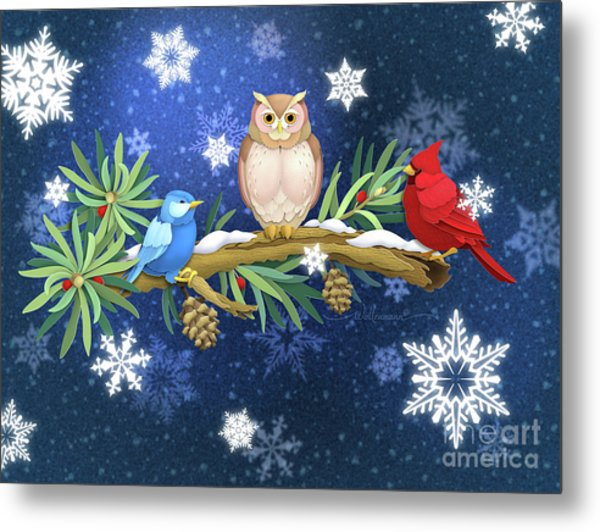The Winter Watch Metal Print