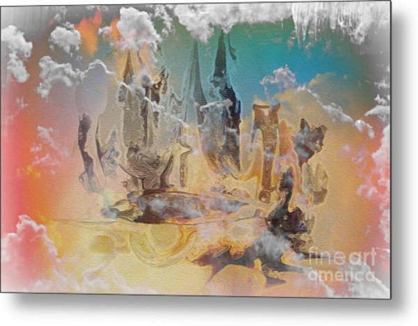 The Wizard By Sherriofpalmsprings Metal Print