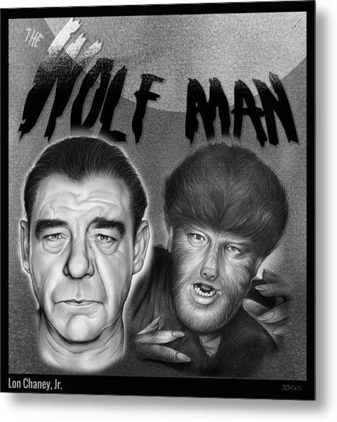 The Wolf Man Metal Print