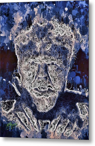 The Wolfman Metal Print