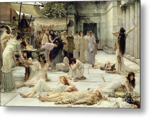 The Women Of Amphissa Metal Print
