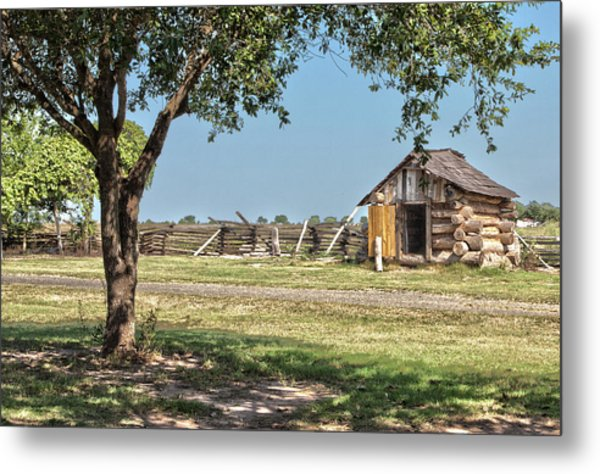 The Wood Shed Metal Print
