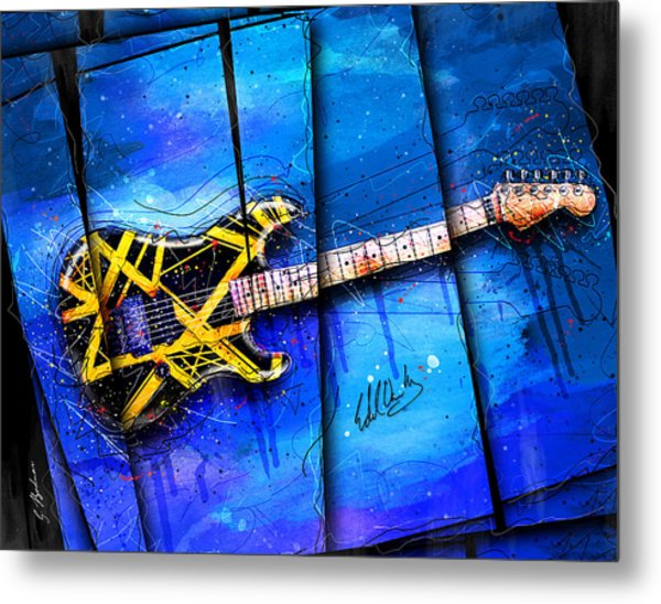 The Yellow Jacket Metal Print